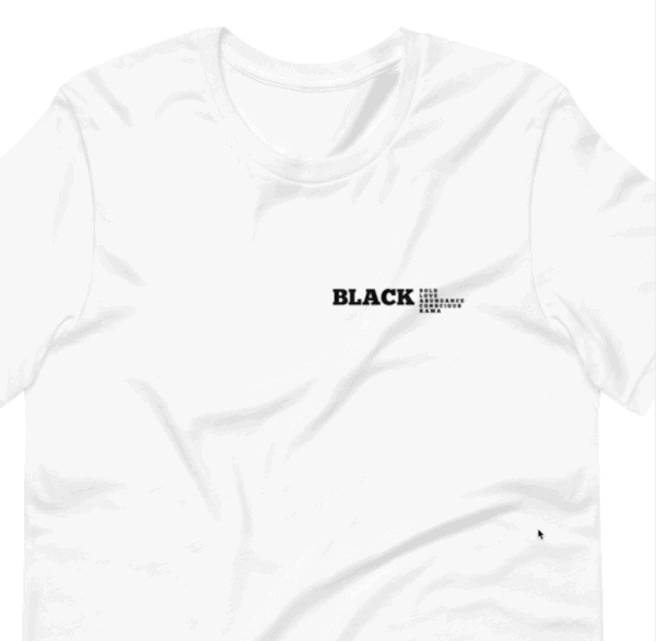 Black tshirt collection