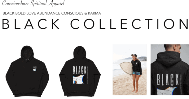 black collection Hoodie