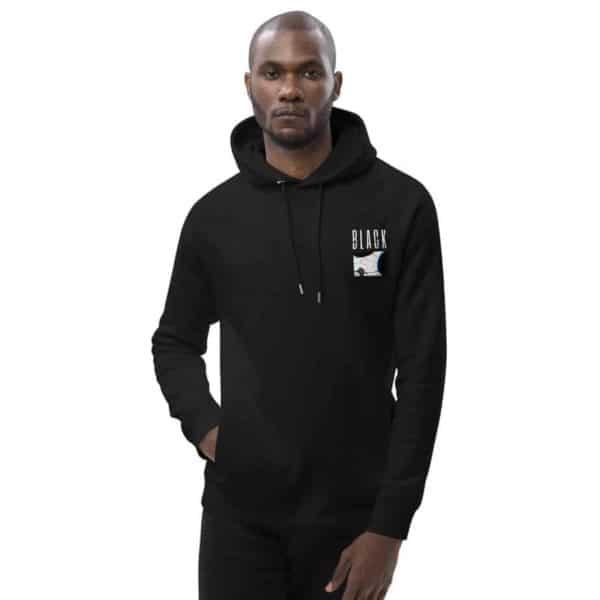 unisex eco hoodie black 5ff075e82340e