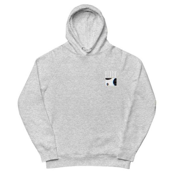 unisex eco hoodie heather grey 5ff075e823809