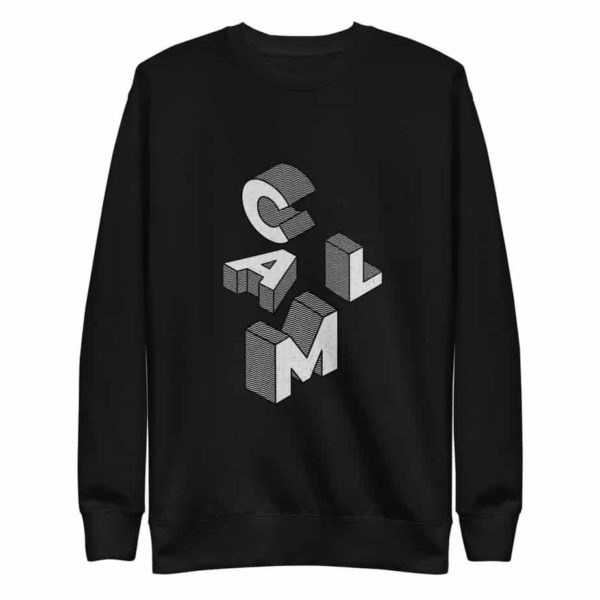 unisex fleece pullover black 5ff77befcda76