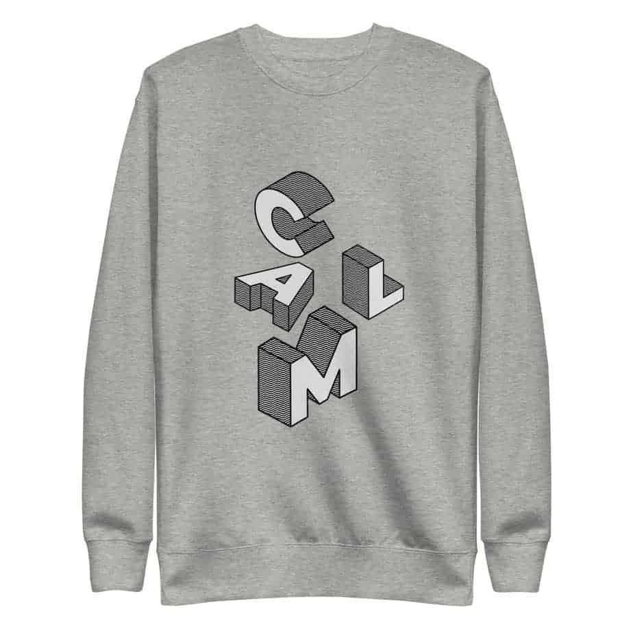 unisex fleece pullover carbon grey 5ff77b6f1a7cc