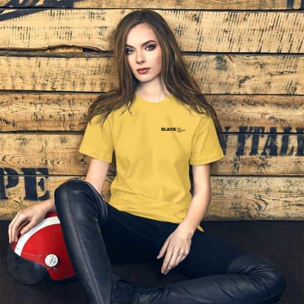 unisex premium t shirt yellow 5ff1fcbbe0fa0