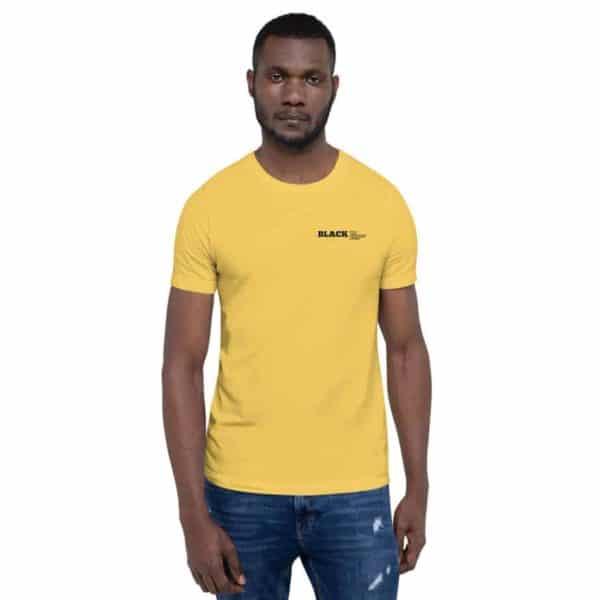 unisex premium t shirt yellow 5ff1fe6e81931
