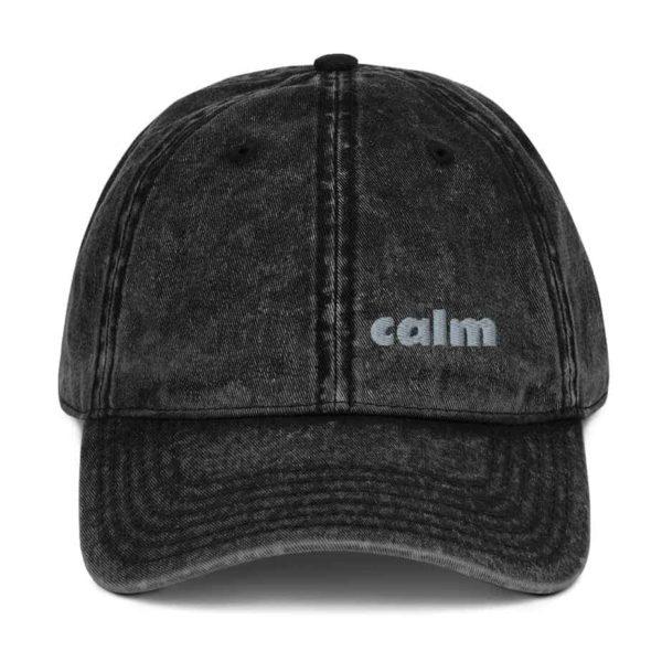 vintage cap black 5ff7822498f46