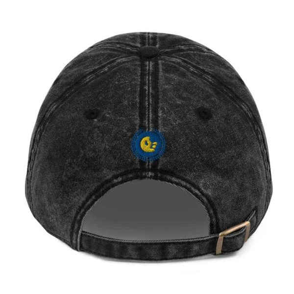 vintage cap black 5ff7822499052