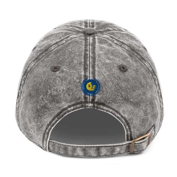 vintage cap charcoal grey 5ff1f657d68b0