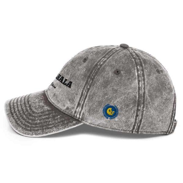 vintage cap charcoal grey 5ff5ee439c80b