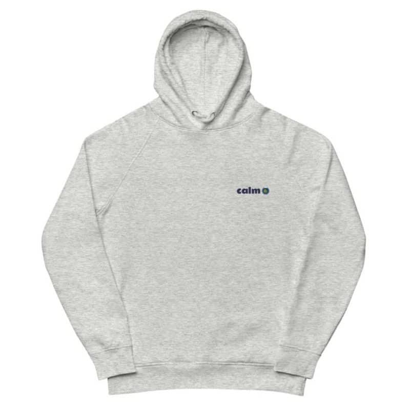 unisex eco hoodie heather grey front 602edb436c6e3