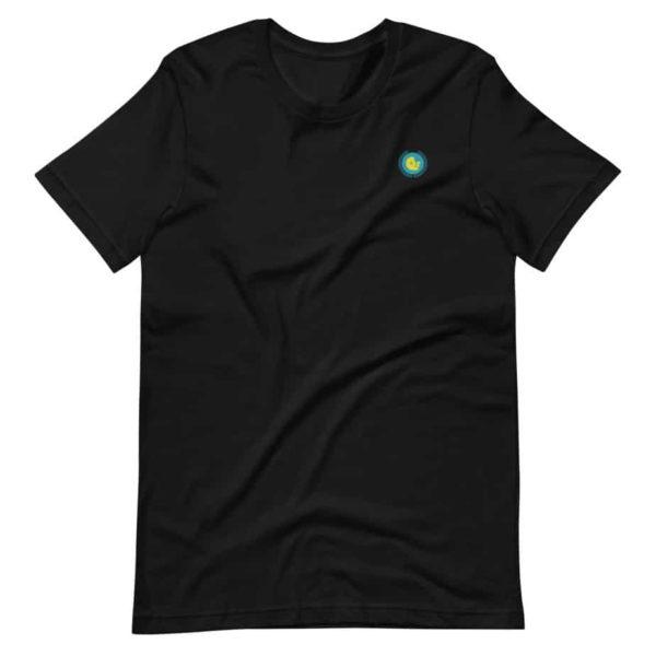 unisex premium t shirt black front 602ede0426946