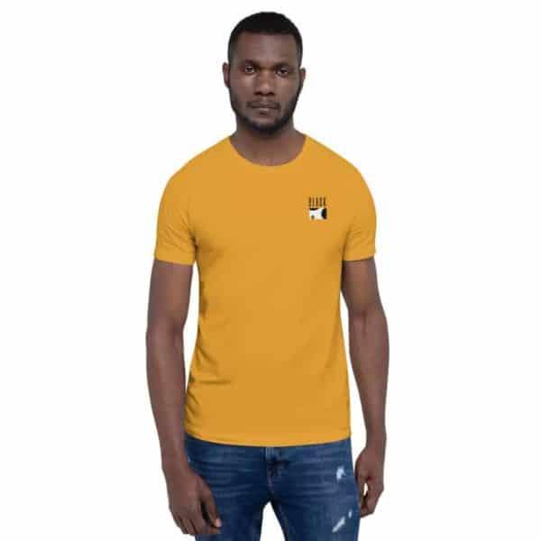 unisex premium t shirt mustard front 60368f79dbefc