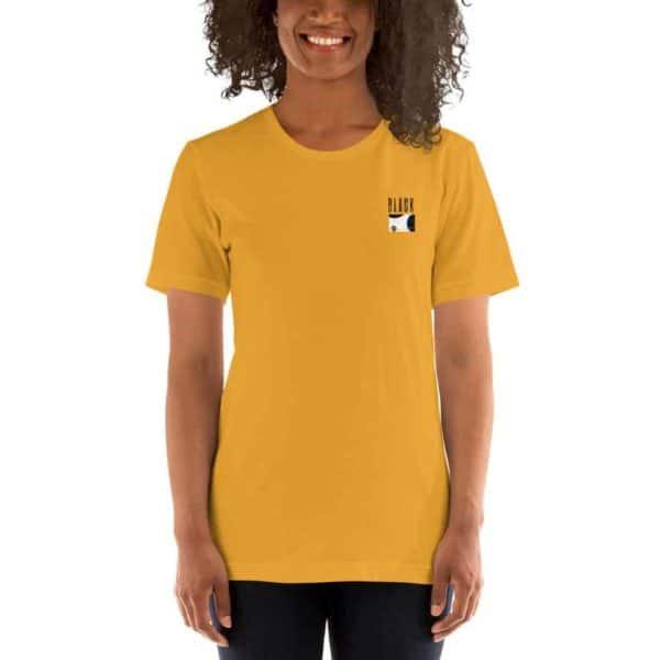 unisex premium t shirt mustard front 60369284d8d45