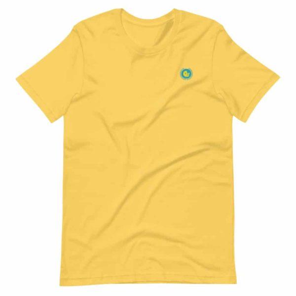 unisex premium t shirt yellow front 601ae584346e0