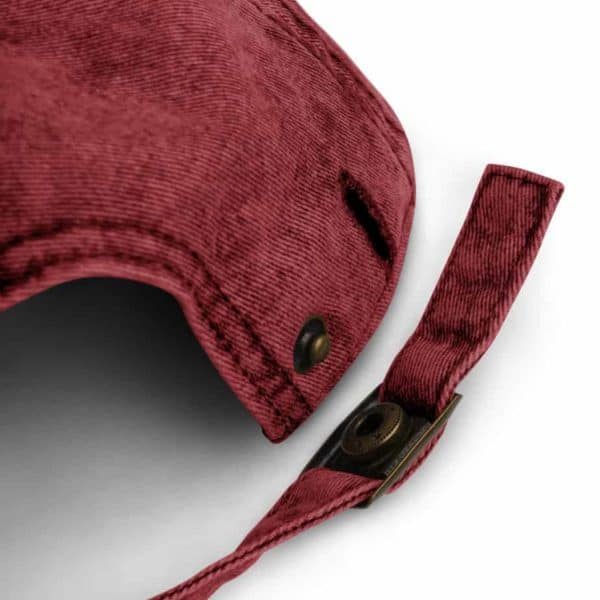 vintage cap maroon product details 6036a19d1877f