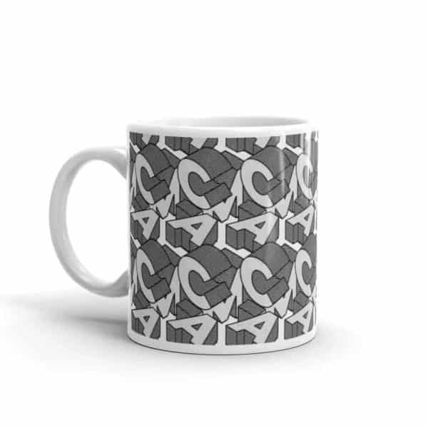 white glossy mug 11oz handle on left 602ee92dbead1