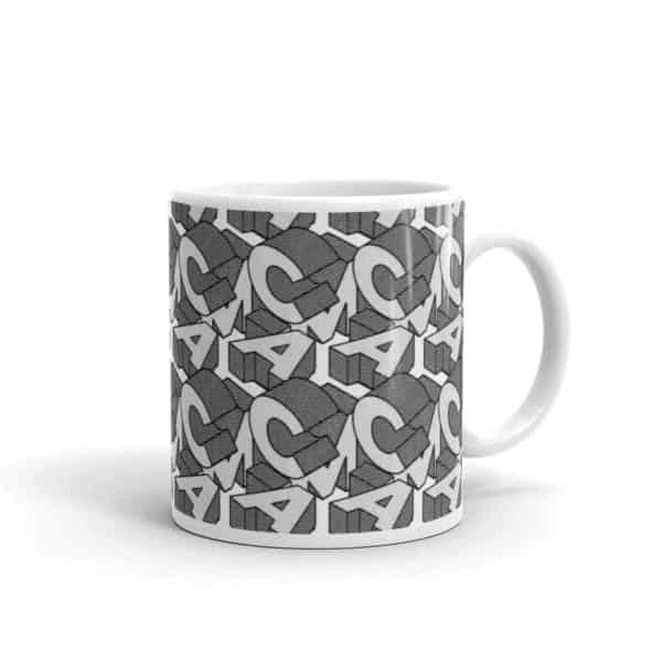 white glossy mug 11oz handle on right 602ee92dbe8b5
