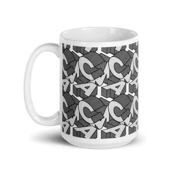 white glossy mug 15oz handle on left 602ee92dbec7f