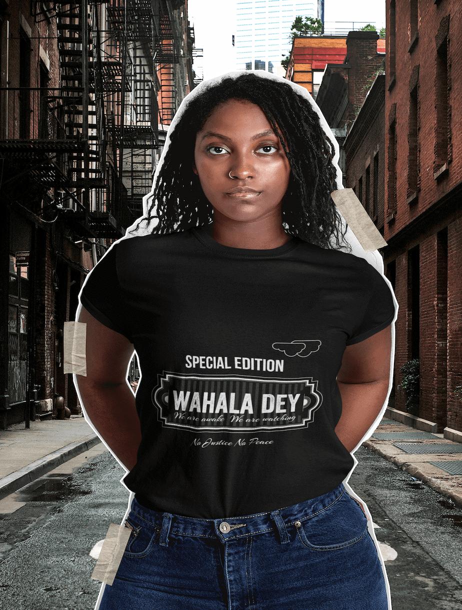 wahala dey tee woman collection consciousbuzz