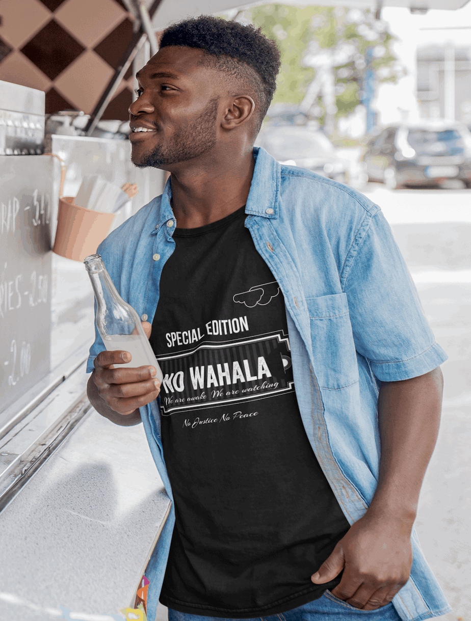 no wahala  tee collection consciousbuzz