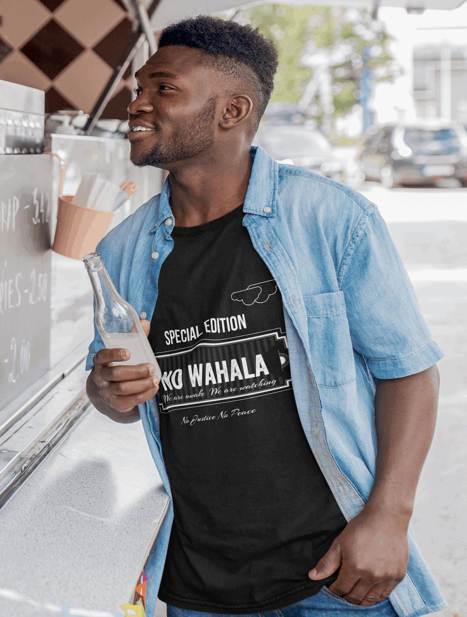 no wahala  tee collection consciousbuzz